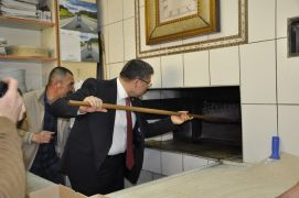 Başkan Bozkurt ve Milletvekili Özkaya'dan esnaf ziyareti