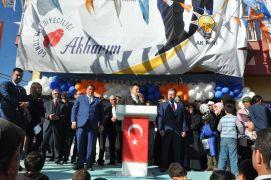 Milletvekili Eroğlu, Akharım Beldesini ziyaret etti