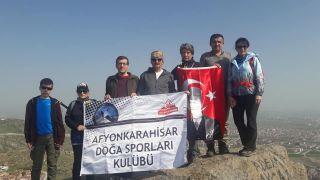 AFDOS üyeleri Karahisar Kalesi'ne çıktı