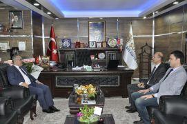 Afyonkarahisar Vali Yardımcısı Boztepe'den Başkan Bozkurt'a hayırlı olsun ziyareti