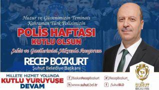 Başkan Bozkurt'un Polis Haftası mesajı