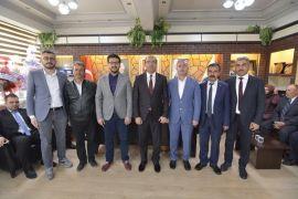 Başkan Mustafa Çöl'e hayırlı olsun ziyaretleri
