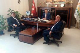 Başkan Sarı Dinar, kapalı mezbahananın açılması için çalışmalara başladı