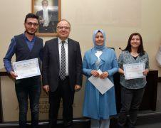 Gazeteci adayları sertifikalarını aldı