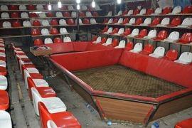 Horoz dövüşü için yapılan ring yetkilileri şaşırttı