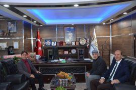 Kaymakam Kaya'dan Başkan Bozkurt'a hayırlı olsun ziyareti