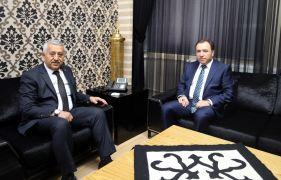Rektör Karakaş'tan Başkan Zeybek'e ziyaret