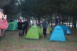 Sandıklı Akdağ'da Kamp Karavan Turizmi Festivali devam ediyor