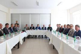 İlçe Milli Eğitim Müdürleri Şuhut'ta bir araya geldi