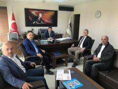 Kaymakam Kaya'dan KOSGEB Müdürü Özen'e ziyaret