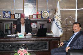 Müdür Sarıkaya'dan Başkan Bozkurt'a ziyaret