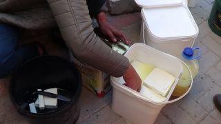 Salamura koyun ve keçi peynirine yoğun ilgi
