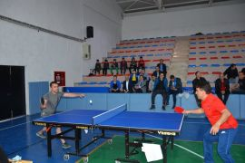 Şuhut'ta Şehit İbrahim Imış Masa Tenisi Turnuvası başladı