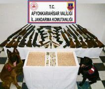 121 personelle 21 adrese eş zamanlı silah operasyonu