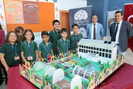 Afyonkarahisar'da öğrenciler yaşanılabilir okul tasarladı