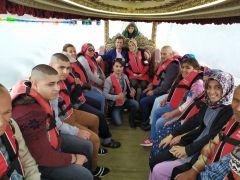 Engelli hastaların Emre Gölü gezisi