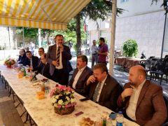 Eroğlu, Bolvadin'de bayramlaşma törenine katıldı
