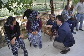Kaymakam Kaya, Aler Yaşam Engelli Bakım Merkezini ziyaret etti
