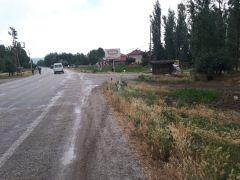 Şuhut'ta otomobil tarlaya girdi: 2 yaralı