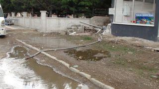 Şuhut'ta şiddetli yağmur