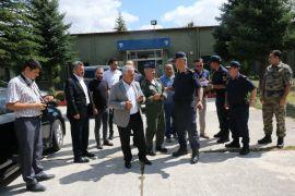 Afyonkarahisar'da helikopterli destekli trafik denetimi