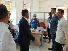 Afyonkarahisat İl Sağlık Müdürlüğü'nden Şuhut Devlet Hastanesi'ne denetim