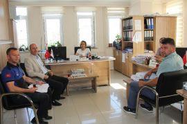 Başkan Bozkurt belediye birimlerini ziyaret etti