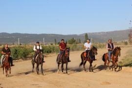 Başmakçı'da rahvan at yarışı hazırlıkları