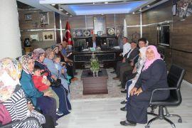 İstiklal Mahallesi sakinlerinden Başkan Bozkurt'a ziyaret