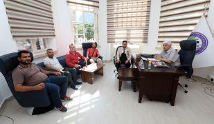 Kent Konseyi Başkanı Yasan'a hayırlı olsun ziyareti