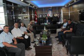 Köy muhtarlarından Başkan Recep Bozkurt'a ziyaret