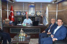 Müdür Çatal'dan Başkan Bozkurt'a ziyaret