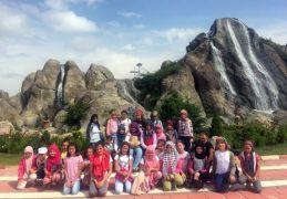 Öğrenciler Masal Parkı ve Akarçay'ı gezdi