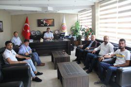 Şuhut'ta Organize Sanayi Bölgesi Temmuz Ayı Yönetim Kurulu toplantısı yapıldı