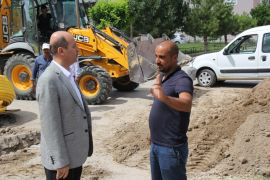 Şuhut'ta doğal gaz çalışmaları devam ediyor