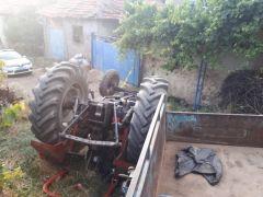 Şuhut'ta traktör kazası, 1 yaralı