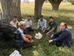 Vali Mustafa Tutulmaz'ın köy ziyaretleri