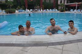 Afyonkarahisar'da Kurban Bayramı öncesi termal oteller doldu