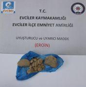 Evciler'de uyuşturucu operasyonu: 1 gözaltı