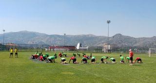 Futbol takımlarının yaz kampı tercihi Afyonkarahisar oldu
