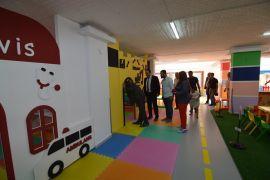 Sandıklı'da modern bir oyun parkı açıldı