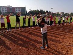 Minik sporcular Türkiye Şampiyonası'na hazırlanıyor