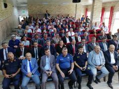 Vali Mustafa Tutulmaz Bolvadin'de muhtarlarla bir araya geldi