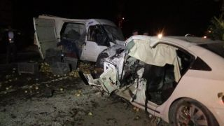 Afyonkarahisar'da feci kaza: 1 ölü, 7 yaralı