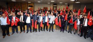 Afyonkarahisar Belediye Meclisi'nden Barış Pınarı Harekatı'na destek