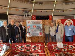 Emekli astsubaylardan Mehmetçiğe destek
