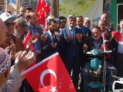 Kızılören'den Barış Pınarı Harekatı'na destek