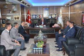 Müftü Orhanlı ve Din Görevlilerinden Başkan Bozkurt'a ziyaret