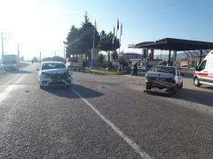 Şuhut'ta trafik kazası: 6 yaralı