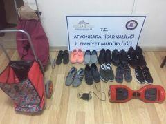 23 ayrı ayakkabı hırsızlığından aranan şahıs trende yakalandı